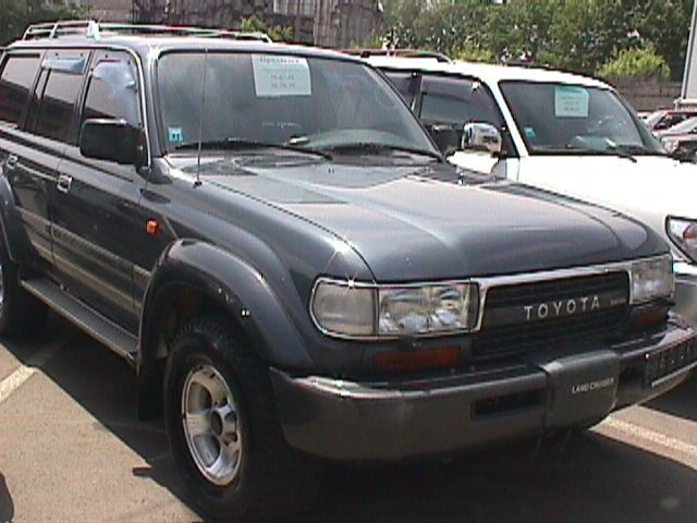 1994 toyota land cruiser pictures