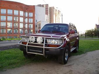 1995 Toyota LAND Cruiser picture