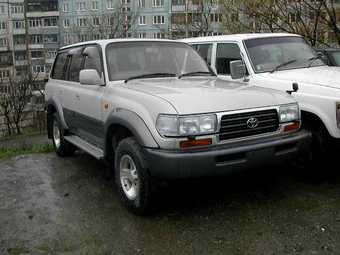 1996 Toyota LAND Cruiser picture