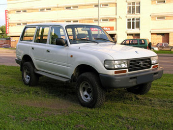 1997 Toyota LAND Cruiser picture