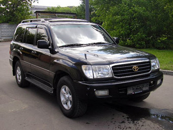 2000 Toyota LAND Cruiser picture